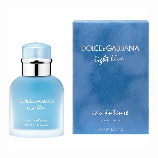 Dolce & gabbana light blue pour homme eau intense eau de parfum 50ml vaporizador