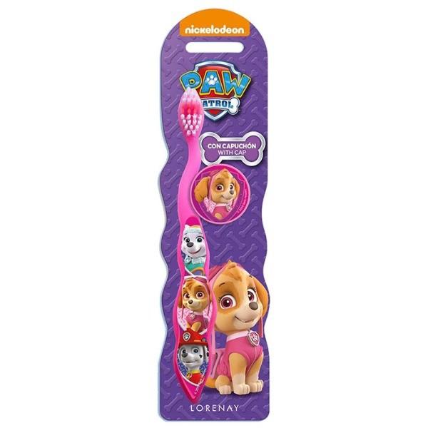 Paw Patrol cepillo dental rosa 1 ud
